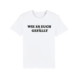 """WHITE """"WIE ES EUCH GEFÄLLT"""" T-SHIRT SCHWARZ"""