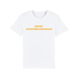 "WHITE ""ESCHE JUGENDKUNSTHAUS"" T-SHIRT GELB"