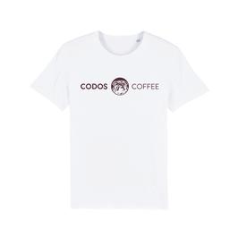 "WHITE ""CODOS"" LOGO T-SHIRT"