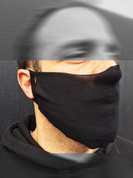 Maske aus Jerseystoff