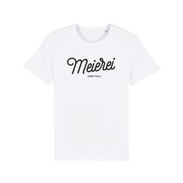 "WHITE ""MEIEREI ST. PAULI"" LOGO T-SHIRT"