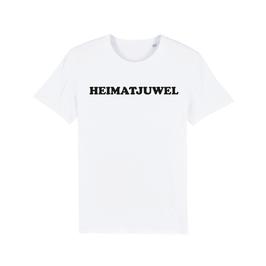 "WHITE ""HEIMATJUWEL"" T-SHIRT SCHWARZ"