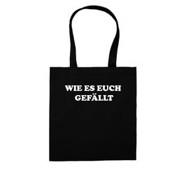 """WIE ES EUCH GEFÄLLT"" SHOPPING BAG"