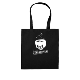 """DEATHPRESSO"" SHOPPING BAG"