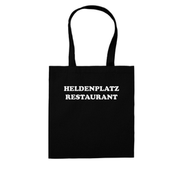 """HELDENPLATZ RESTAURANT"" SHOPPING BAG"