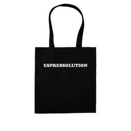 """ESPRESSOLUTION"" SHOPPING BAG"