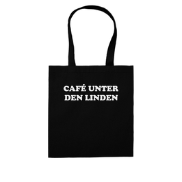 """CAFÉ UNTER DEN LINDEN"" SHOPPING BAG"
