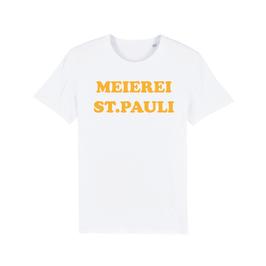 "WHITE ""MEIEREI ST. PAULI"" T-SHIRT GELB"