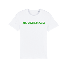 """WHITE """"MUCKELMATZ"""" T-SHIRT GRÜN"""