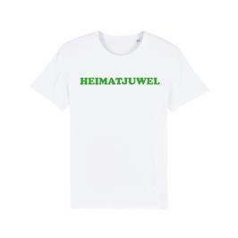 """WHITE """"HEIMATJUWEL"""" T-SHIRT GRÜN"""