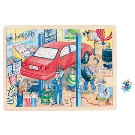 Puzzle Autowerkstatt