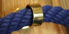 Handlaufseil, blau ,  Ø28 mm