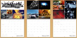 Wandkalender 2014