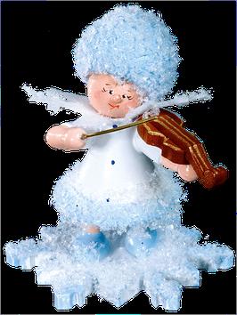Schneeflöckchen mit Geige
