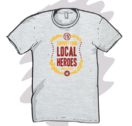"DEG&0211 boy shirt ""local heroes"""