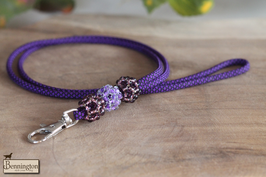 "Gloss Paracord ""Violet Star"""