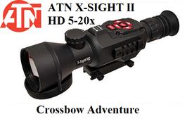 Tag- und Nachtsicht-Zielfernrohr ATN X-Sight II HD 5-20x50