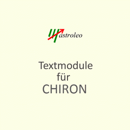 CHIRON Textmodul Download