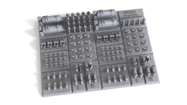 EF35138 1/35   DETAIL SET FOR PZ. III H-L, N REWORKED FROM L