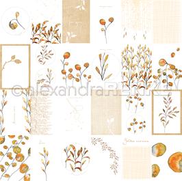 Kärtchenbogen Blätter