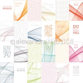 Kärtchenbogen Farbwellen