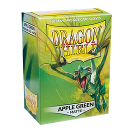 Pochettes Dragon Shield Apple Green Matte