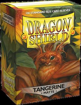 Pochettes Dragon Shield Tangerine Matte