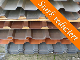 Stahlblech Trapezprofil 35/207 – Restposten – Profilhöhe: 35mm