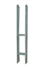 H-Pfostenträger, schwere Ausführung, zum einbetonieren  in verschiedene Größen