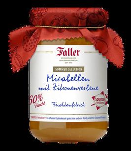 Faller Mirabellen mit Zitronenverbene - Fruchtaufstrich aus dem Schwarzwald 320g ... wie hausgemacht!