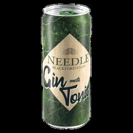 Needle Gin Tonic Dose - 0,33 Liter - 10% vol.