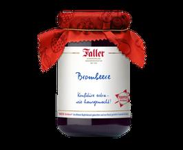 Faller - Brombeer Konfitüre aus dem Schwarzwald - 330g. - wie hausgemacht!
