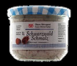 Gourmet Schwarzwald Schmalz aus der oberen Metzgerei Winterhalter in Elzach - 185g