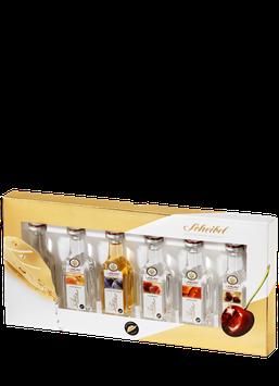 """""""Scheibel Premium Diamant"""" - Erlesene Auswahl von Scheibel Premiumbränden im 6er Miniatur Set"""