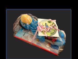 Globi im Brunni Geschenk