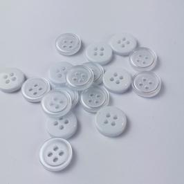 Műanyag Ing gombok  15db /csomag