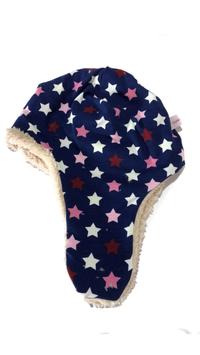 Fliegermütze Sterne leuchtet bei Nacht (F86)