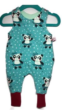 Strampelanzug  Tanzender Pandabär  (S83/4)