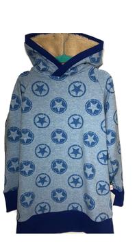 Hoodie Steren Hellblau (H10/2)