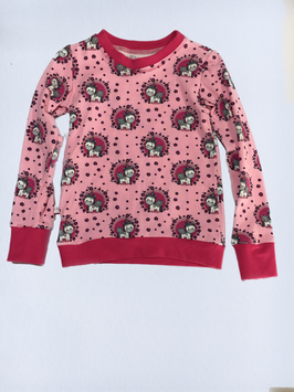 Shirt Einhorn Blumen pink (T67/7)