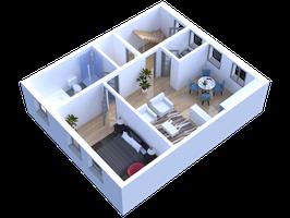3D Plan-Zeichnung - Wir visualisieren Ihre Pläne
