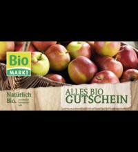 Gutschein Biomarkt
