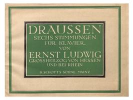 DRAUSSEN - SECHS STIMMUNGEN FÜR KLAVIER