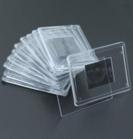 6. Заготовка акрилового магнита прямоугольная, разноцветная 84х59мм
