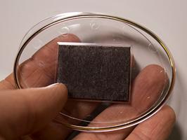 28. Заготовка акрилового магнита 85*63 мм овальная прозрачная с золотым тиснением
