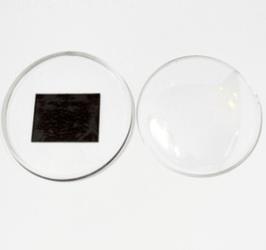 Заготовка акрилового магнита круглая 75 мм