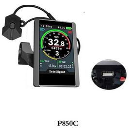 Pantalla LCD  P850C a color para motores BBS01, BBS02 y BBSHD.
