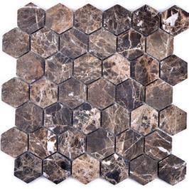 Hainan Mosaik braun h10461