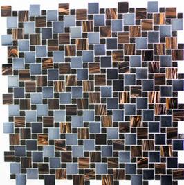 Goldstar Mosaik mix braun blau grau h10705