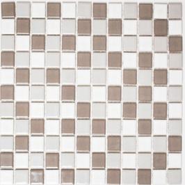 Classic Mosaik mix grau mit weiß h10161